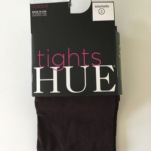 HUE Opaque Tights Expresso
